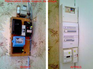 Rénovation de tableau électrique - ADC34